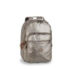 תיק גב CLAS SEOUL - נחושת מתכתית - 25 ליטר - קיפלינג Kipling