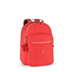 תיק גב CLAS SEOUL - אדום שמח - 25 ליטר -קיפלינג Kipling