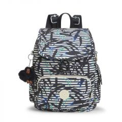 תיק גב קטן CITY PACK S - BAMBOO STRIPES - קיפלינג Kipling