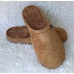 נעלי בית עם רפידת ויסקו בצבע קאמל- דגם קלאסי