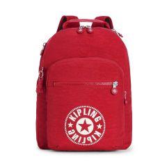 תיק גב CLAS SEOUL - אדום תוסס - 25 ליטר - קיפלינג Kipling