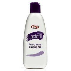 שמפו טיפולי נגד קשקשים לקטופיל כצט Lactofil