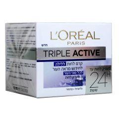 קרם לילה פעולה משולשת L'OREAL Triple Active