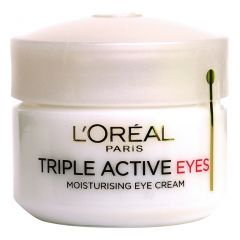 קרם עיניים פעולה משולשת L'OREAL Triple Active