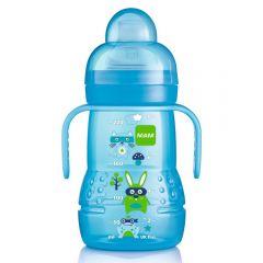 בקבוק אימון לגילאי 4 חודשים+ MAM-בנים