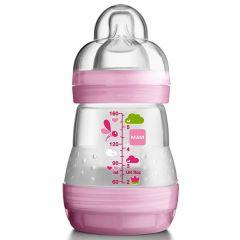 """בקבוק אנטי קוליק 160 מ""""ל 0+ MAM-בנות"""