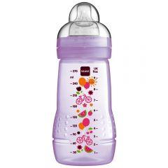 """בקבוק לתינוק 270 מ""""ל מגיל 2+ חודשים MAM-בנות"""