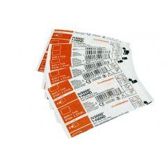 מדבקות IV3000 מדטרוניק Medtronic