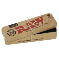 RAW קופסה פח לאחסון מוצרים בגודל קינג סייז