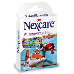 פלסטרים לילדים מטוסים נקסקר NEXACRE SENSETIVE PLANES