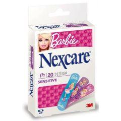 פלסטרים לילדים ברבי נקסקר NEXCARE SENSETIVE BARBIE