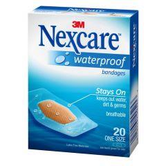 פלסטר עמיד במים נקסקר NEXCARE WATERPROOF BANDAGES