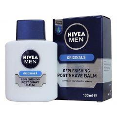 תחליב לחות לגבר לאחר גילוח לעור יבש NIVEA MEN