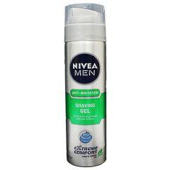 ג'ל גילוח מפחית גירויים NIVEA MEN