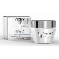 קרם פנים ליפט אקטיב לעור יבש וישי Liftactive