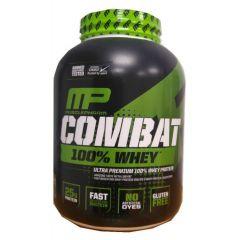 """אבקת חלבון קומבט 100% קפוצ'ינו 2.27 ק""""ג MusclePharm"""