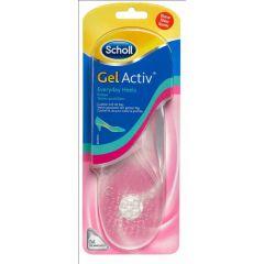 רפידות נשים לעקבים יומיומיים Scholl GelActive