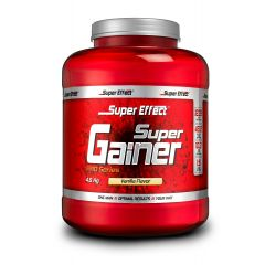 אבקת גיינר בטעם וניל 4.5kg - סופר אפקט Super Effect