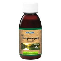 סופהרב שמן זרעי קנאביס SUPHERB HEMP OIL 200ML