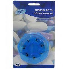 ערכת תרופות שבועית עגולה - מדיק ספא