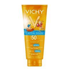קרם לילדים קפיטל סוליי וישי Vichy Capital Soleil Milk for Children SPF 50