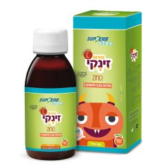סופהרב זינקי SupHerb Zinci 125ml