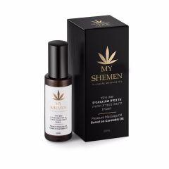 """שמן סיכה טבעי על בסיס צמח הקנאביס לתחושת עונג מוגברת 30 מ""""ל Shemen Amor"""