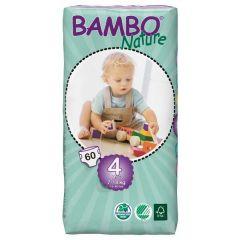 חיתולי תינוקות חד-פעמיים אקולוגיים Bambo Nature שלב 4