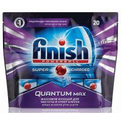 טבליות לניקוי כלים במדיח Finish Quantum Max