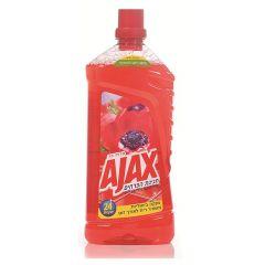 נוזל לניקוי רצפות חגיגת פרחים אדום AJAX