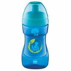 כוס ספורט עם שסתום נועל בצבע כחול MAM Sports Cup