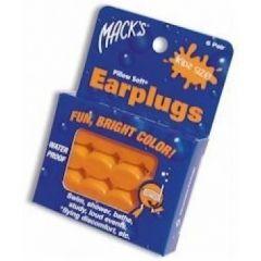 אטמי אוזניים לילדים מסיליקון MACK'S
