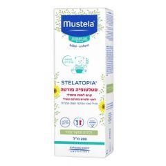 סטלטופיה פורטה קרם לחות טיפולי לגוף ולפנים 200ml מוסטלה mustela