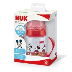 בקבוק אימון דיסני אדום 150ml - נוק NUK