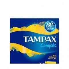 טמפקס קומפק רגולר 16 יחידות TAMPAX