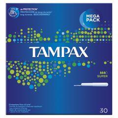 טמפונים עם מוליך סופר TAMPAX