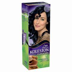 קולסטון מיני קיט שחור כחול 2/8 Wella Koleston mini kit Naturals