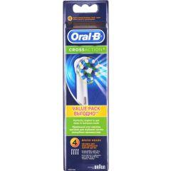 ראש למברשת חשמלית לניקוי עמוק 4 יחידות CrossAction Oral-B