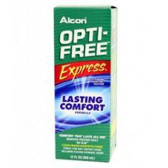 אופטי פרי אקספרס - תמיסת חיטוי רב תכליתית לעדשות מגע Alcon