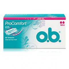 טמפונים מיני O.B ProComfort