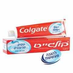 משחת שיניים פסים מרעננים קולגייט