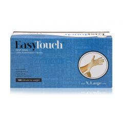 כפפות לטקס 100 יחידות מידה S - איזי טאץ' EasyTouch