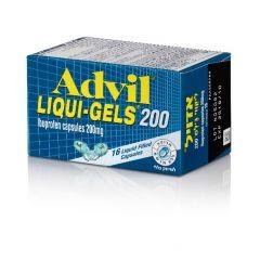 אדויל ליקווי ג'לס 16 קפסולות ADVIL LIQUIGELS 16 CAPSULS