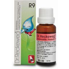 "R9 טיפות הומיאופתיות 22 מ""ל - ד""ר רקווג Dr. Reckeweg"