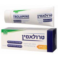טרולאמין תחליב לעור להקלה על כוויות וצריבות 200 גרם - TROLAMINE