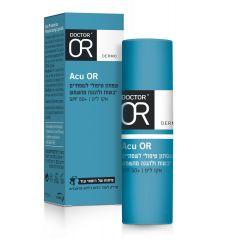 """ACU OR - שפתון טיפולי לשפתיים יבשות ולהגנה מהשמש ד""""ר עור 4.5 מ""""ל DR OR"""