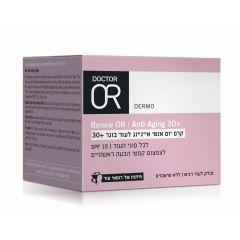 """ריניו עור - קרם יום אנטי אייג ד""""ר עור 50 מ""""ל DR. OR"""