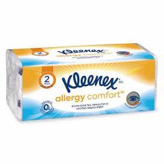 ממחטות אף טישו קלינקס אלרג'י קומפורט 140 יחידות KLEENEX Allergy comfort