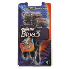 מכשירי  גילוח חד פעמיים ג'ילט 3  Gillette Blue