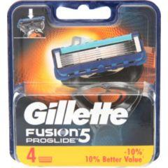 GILLETTE FUSION5 סכיני גילוח 4 יחידות